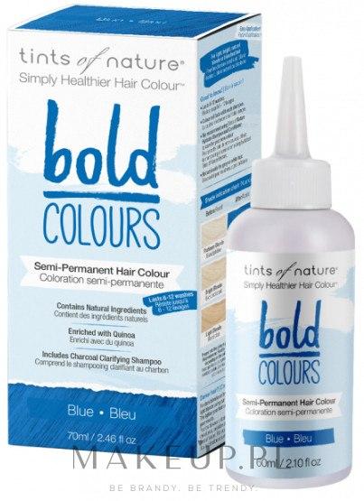 Półtrwała farba do włosów - Tints Of Nature Semi-Permanent Bold Colours — фото Blue