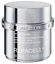 Kup Luksusowy przeciwstarzeniowy krem do cery normalnej - Klapp Repacell 24H Antiage Luxurious Cream Normal