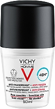 Kup Antyperspirant w kulce dla mężczyzn przeciw białym i żółtym plamom - Vichy Homme Deo Anti-Transpirant 48H