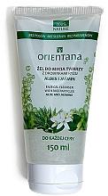 Kup Żel do mycia twarzy z drobinkami ryżu Aloes i jaśmin - Orientana Face Gel Cleanser