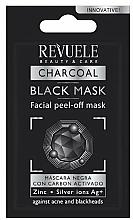 Kup Czarna maska do twarzy peel-off - Revuele No Problem Black Mask (próbka)