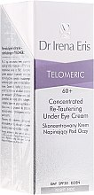 Skoncentrowany krem napinający pod oczy SPF 20 na dzień i noc - Dr Irena Eris Telomeric Concentrated Re-Tautening Under Eye Cream — фото N1