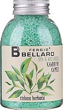 Kup Zmiękczający kawior do kąpieli Zielona herbata - Fergio Bellaro Green Tea Bath Caviar