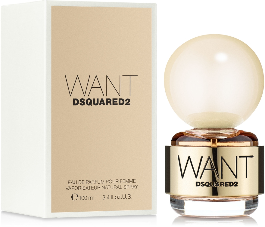 DSQUARED2 Want - Woda perfumowana