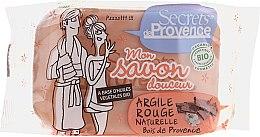Kup Mydło w kostce z naturalną glinką czerwoną - Secrets De Provence My Soap Bar Wood Of Provence Perfume