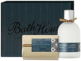 Kup Bath House Bergamot & Amber - Zestaw (edc 100 ml + soap 150 g)
