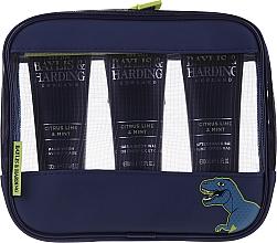 Kup Zestaw dla mężczyzn - Baylis & Harding Men's Citrus Lime & Mint Bag (hair/body/wash 100 ml + face/wash 100 ml + a/sh/balm 100 ml + acc)
