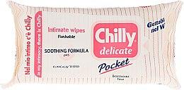 Kup Delikatne kojące chusteczki do higieny intymnej - Chilly Gel Delicate Intimate Wipes