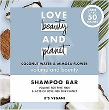 Kup Szampon w kostce zwiększający objętość włosów Woda kokosowa i mimoza - Love Beauty And Planet Coconut & Mimosa Shampoo