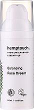 Kup PRZECENA! Kojąco-nawilżający krem do twarzy - Hemptouch Balancing Face Cream *