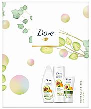 Kup Zestaw - Dove Revitalising Set (sh/gel/250ml + b/balm/250ml + h/cream/75ml)