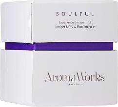 Kup Świeca zapachowa Jałowiec i kadzidło - AromaWorks Soulful Candle