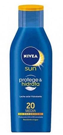 Balsam do ciała z filtrem przeciwsłonecznym - Nivea Sun Protect And Moisture Lotion SPF 20 — фото N1