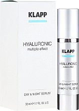 Kup Hialuronowe serum na dzień i noc - Klapp Hyaluronic Multiple Effect Day & Night Serum