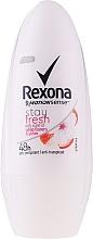 Kup Dezodorant w kulce Białe kwiaty i liczi - Rexona MotionSense Stay Fresh White Flowers & Lychee Deo Roll-On