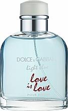 Kup Dolce & Gabbana Light Blue Love is Love Pour Homme - Woda toaletowa