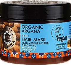 Kup Bogata regenerująca maska do włosów osłabionych i zniszczonych z olejem arganowym - Planeta Organica Organic Argana Rich Hair Mask
