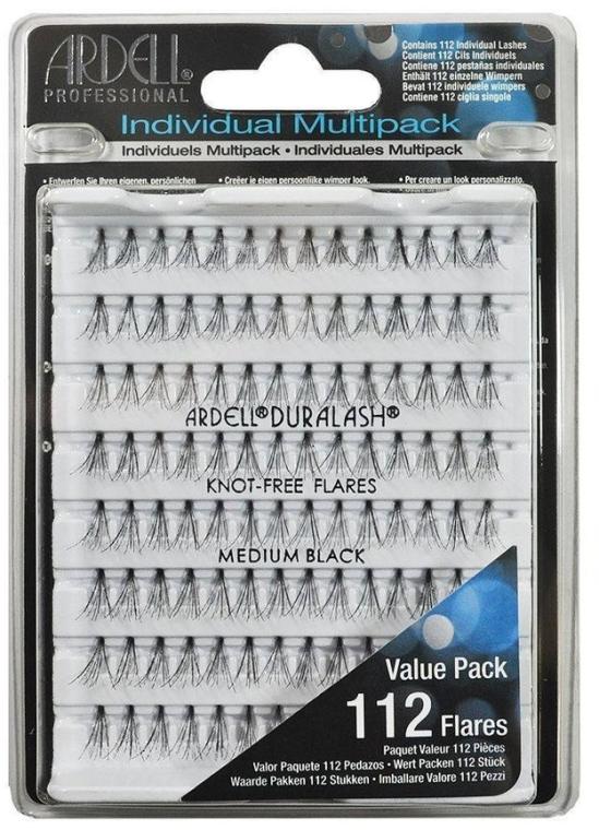 Kępki rzęs - Ardell Individual Multipack Medium Black — фото N1