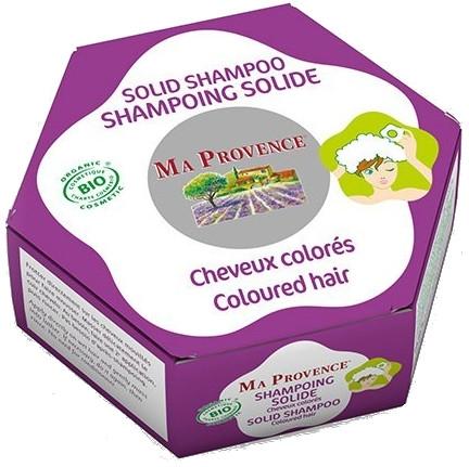 Organiczny szampon w kostce do włosów farbowanych - Ma Provence Solid Shampoo — фото N1