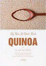Kup Intensywnie nawilżająca maska do twarzy z ekstraktem z quinoa - A'Pieu My Skin-Fit Sheet Mask Quinoa