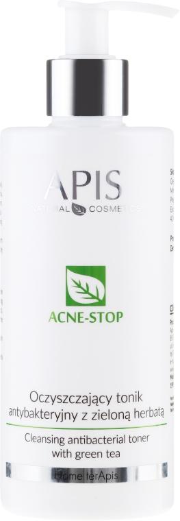Oczyszczający tonik antybakteryjny z zieloną herbatą - APIS Professional Home TerApis Acne-Stop