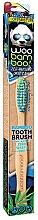 Kup Miękka szczoteczka do zębów, zielono-niebieska - Woobamboo Toothbrush Zero Waste Adult Bamboo Soft Bristle