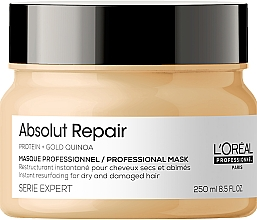 Kup Naprawcza maska do włosów - L'Oreal Professionnel Absolut Repair Gold Quinoa +Protein Mask New
