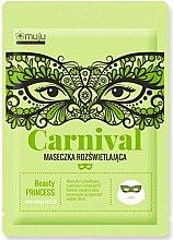 Kup Maseczka rozświetlająca w płachcie do twarzy - Muju Carnival Beauty Princess