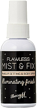 Kup Spray utrwalający makijaż - Barry M Flawless Mist & Fix Makeup Setting Spray
