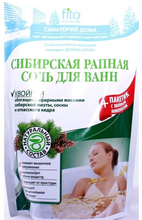 Sosnowa sól do kąpieli Syberyjska solanka - FitoKosmetik — фото N1