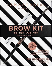 Kup Anastasia Beverly Hills Better Together Brow Kit Soft Brown (pencil/0.08g + gel/2.5g) - Zestaw do makijażu oka