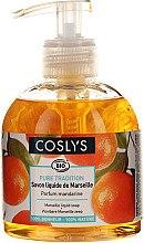 Kup Mydło w płynie Oliwa z oliwek i mandarynka - Coslys Marselle soap Mandarin fragrance