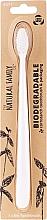 Kup Biodegradowalna szczoteczka do zębów, biała - The Natural Family Co Biodegradable Toothbrush