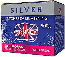 Kup Proszek rozjaśniający z olejem arganowym do włosów - Ronney Professional Dust Free Bleaching Powder With Argan