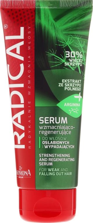 Serum wzmacniająco-regenerujące do włosów osłabionych i wypadających - Farmona Radical — фото N1