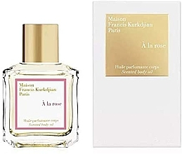 Kup Maison Francis Kurkdjian À La Rose - Perfumowany olejek do ciała