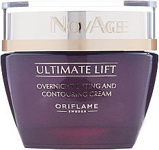 Liftingujący krem do twarzy na noc - Oriflame NovAge Ultimate Lift Overnight Lifting And Countouring Cream — фото N2
