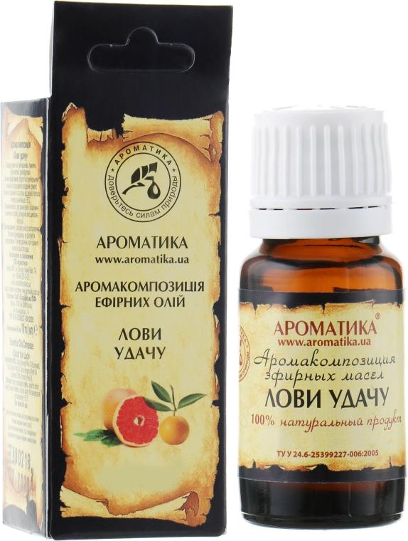 Kompleks naturalnych olejków eterycznych Połów szczęścia - Aromatika — фото N1