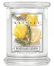 Kup Świeca zapachowa w szkle - Kringle Candle Rosemary Lemon