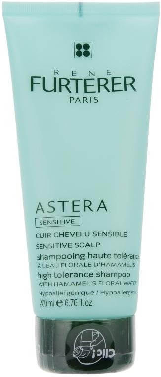Kojący szampon do włosów do wrażliwej skóry głowy - Rene Furterer Astera High Tolerance Shampoo — фото N3