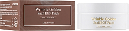 Kup Hydrożelowe płatki pod oczy ze złotem i mucyną - The Skin House Wrinkle Golden Snail EGF Patch