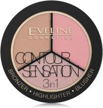 Kup Paletka do konturowania twarzy - Eveline Cosmetics Contour Sensation