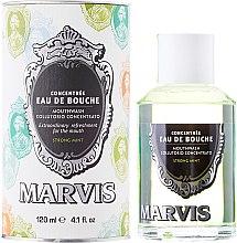 Kup Płyn do płukania jamy ustnej - Marvis Concentrate Strong Mint Mouthwash