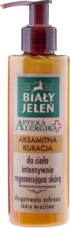Aksamitna kuracja intensywnie regenerująca skórę - Biały Jeleń Apteka alergika