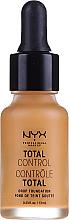 Kup PRZECENA! Długotrwały podkład z bazą - NYX Professional Makeup Total Control Drop Foundation *