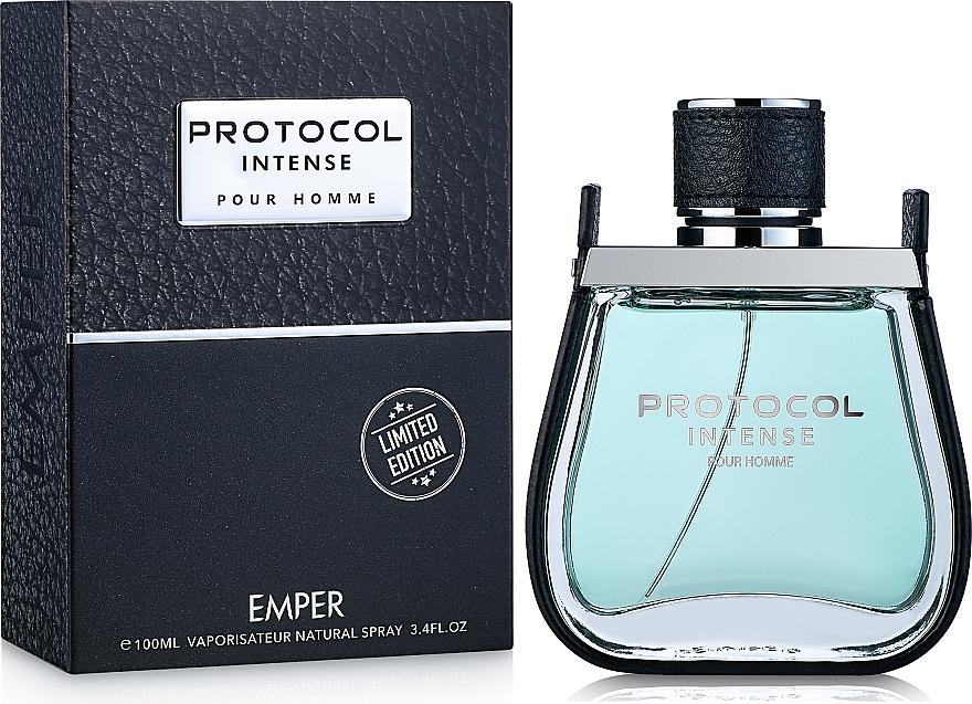 Emper Protocol Intense - Woda toaletowa — фото N2