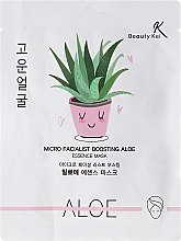 Kup Maska na tkaninie do twarzy z aloesem - Beauty Kei Micro Facialist Boosting Aloe Essence Mask