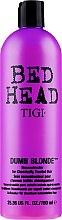 Kup Odbudowująca odżywka do włosów rozjaśnianych - Tigi Bed Head Dumb Blonde Reconstructor Conditioner