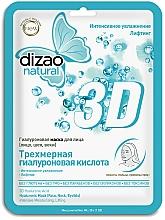 Kup Hialuronowa maska do twarzy w płachcie - Dizao Natural 3D Hyaluronic Mask