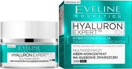 Kup Multiodżywczy krem-koncentrat na głębokie zmarszczki na dzień i noc 70+ - Eveline Cosmetics Hyaluron Expert